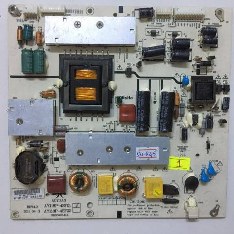 SUNNY SN042DLD12AT022 LED TV BESLEME KARTI / POWER SUPPLY BOARD FOR SUNNY-AXEN TV BOARD NO.S AY118P-4SF01, 3BS0025414, REV:1.1