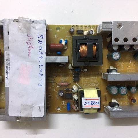 SUNNY SN032LM8-T1 LCD TV BESLEME KARTI / POWER SUPPLY BOARD FOR SUNNY-AXEN TV BOARD NO.S FSP180-4H02, 3BS0210815GP , FSP180