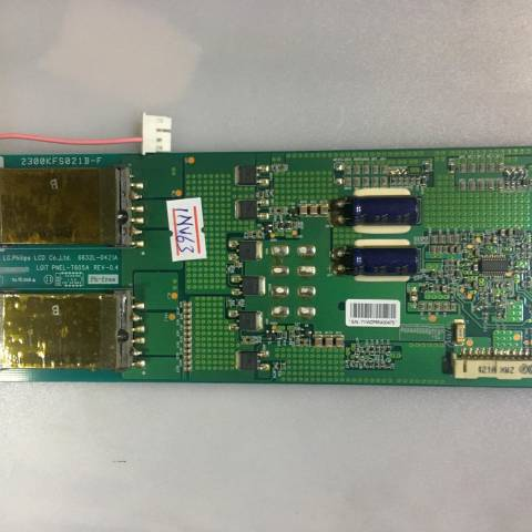 PHILIPS 32PFL7962D LCD TV ARKA AYDINLATMA İNVERTÖR KARTI / BACKLIGHT INVERTER BOARD FOR PHILIPS TV. BOARD NO.S 6632L-0421A, LGIT PNEL-T605A, REV-0.4, 2300KFS021B-F
