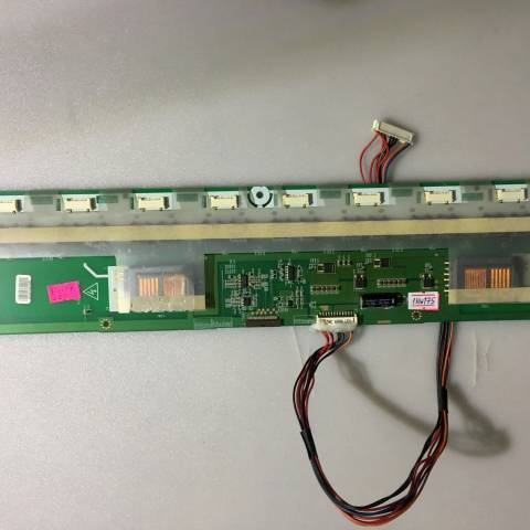 VESTEL MILLENIUM 42750 LCD TV ARKA AYDINLATMA İNVERTÖR KARTI / BACKLIGHT INVERTER BOARD FOR VESTEL TV. BOARD NO.S KLS-420CP-B, REV:1.6, 6632L-0154C, SLAVE