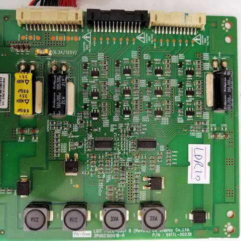 VESTEL 32 INCH LED TV LED SÜRÜCÜ KARTI / LED ADDRESS DRIVER BOARD FOR VESTEL TV. BOARD NO.S 6917L-0023B, 3PHGC10001B-R, PCLC-D901 B,  (REV0.2)