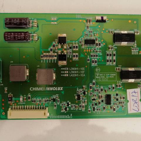 SEG LE39SAT182 FULL HD LED TV LED SÜRÜCÜ KARTI / LED ADDRESS DRIVER BOARD FOR SEG (VESTEL) TV. BOARD NO.S L390H1-1EE, L390H1-1EE-C012C, D081412