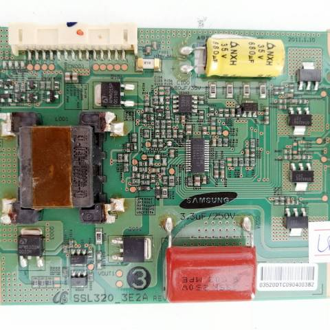 ARÇELİK A32-LEG-5W FULL HD LED TV LED SÜRÜCÜ KARTI / LED ADDRESS DRIVER BOARD FOR ARÇELİK - BEKO TV. BOARD NO.S SSL320_3E2A, REV 0.2