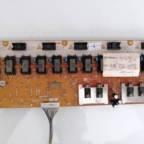LG 52LG5000 HD READY LCD TV ARKA AYDINLATMA İNVERTÖR KARTI / BACKLIGHT INVERTER BOARD FOR LG TV. BOARD NO.S RDENC2305TPZ, QKITF0178S1P2 (73), RDENC2305TPZZ
