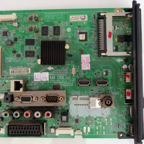 LG 50PM6800 3D SMART PLAZMA TV ANAKARTI / MAINBOARD FOR LG PLAZMA TV. BOARD NO.S EAX64349212 (1.0),  EBT62079702, PD/PA22A-G, EAX64349212