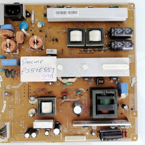 SAMSUNG PS51E551 PLAZMA TV BESLEME KARTI / POWER BOARD FOR SAMSUNG PLASMA TV. BOARD NO.S BN44-00510B, P51FW_CDY, BN44-00510C, P51F1_CDY, MODEL: SEC CODE