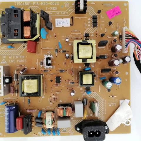 PHILIPS 32PFL3606H FULL HD LCD TV BESLEME KARTI (PSU) / POWER BOARD FOR PHILIPS TV BOARD NO.S 715G4801-P1A-H20-002U, PWTVBMC1GPR1, 715G4801