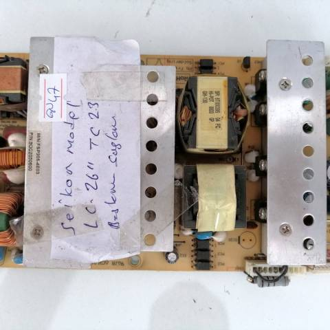 SEIKON LC26LTC23 LCD TV BESLEME KARTI / POWER BOARD FOR SEIKON LCD TV. BOARD NO.S FSP205-4E03, 3BS0177012GP, 3BS0177014GP, 9OC2050600, FSP205