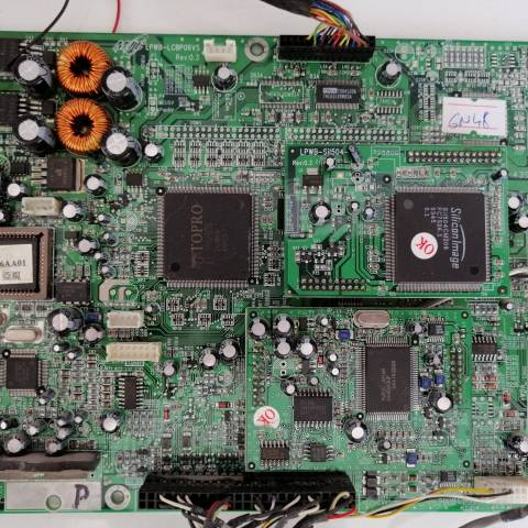 NECVOX 26 INCH LCD TV ANAKARTI / MAINBOARD FOR NECVOX - JENSEN LCD TV. BOARD NO.S JENSEN, LPWB-LCBP06VS, REV:0.3, LCBP06VS