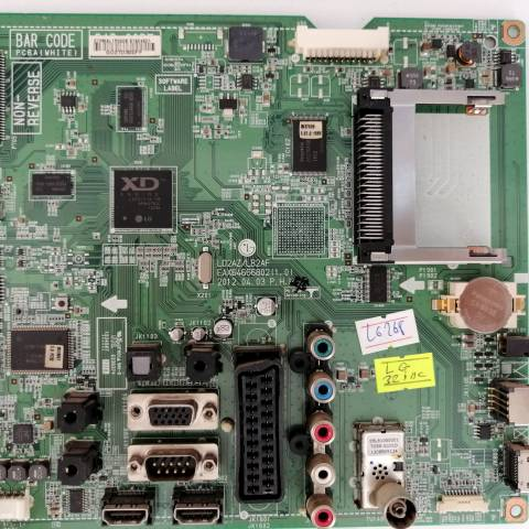 LG 32LT380H HD READY LED TV ANAKARTI / MAINBOARD FOR LG LED TV. BOARD NO.S EAX64666802 (1.0), EBT62224901, EBT62224902, LD2AZ/LB2AF, EAX64666802
