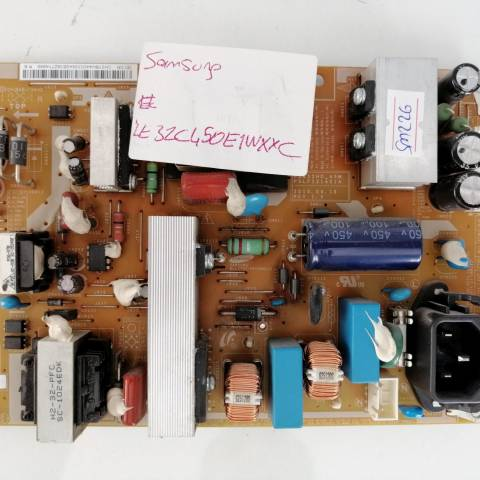 SAMSUNG LE32C450E1W LCD TV BESLEME KARTI / POWER SUPPLY BOARD FOR SAMSUNG LCD TV. BOARD NO.S BN44-00338A, P2632HD_ASM, PSLF121401A, BN44-00338A