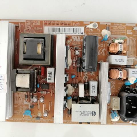 SAMSUNG LE32C530 LCD TV BESLEME KARTI / POWER SUPPLY BOARD FOR SAMSUNG TV. BOARD NO.S BN44-00339B, P3237F1_AHS, BN44-00339, REV 1.2