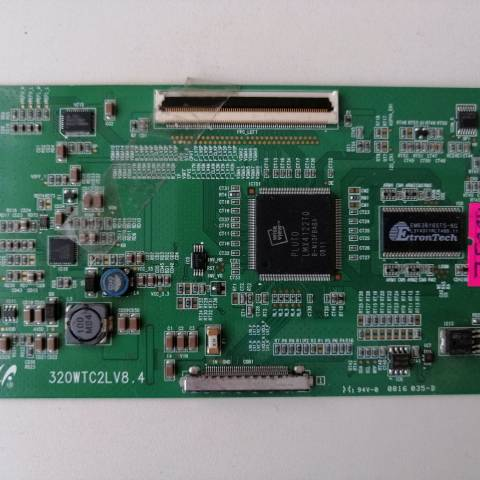 SONY BRAVIA KDL-32V4000 LCD TV T-CON KARTI / T-CON (LOGIC) BOARD FOR SONY LCD TV. BOARD NO.S 320WTC2LV8.4, V8.4, LJ94-02178P, 320WTC2L