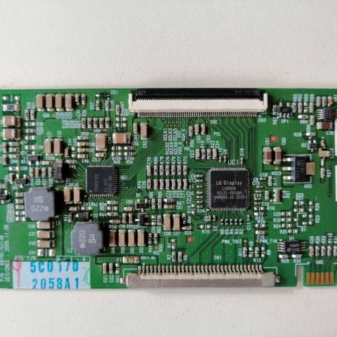 ARÇELİK TV 82-203 LCD TV T-CON KARTI / T-CON (LOGIC) BOARD FOR ARÇELİK LCD TV. BOARD NO.S 6870C-0313B, LC320WXE-SCA1, 6871L-2058A, 2058A