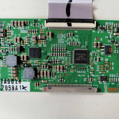 SEG 32900 LCD TV T-CON KARTI / T-CON (LOGIC) BOARD FOR SEG (VESTEL) LCD TV. BOARD NO.S 6870C-0313B, LC320WXE-SCA1, 6871L-2058A, 2058A