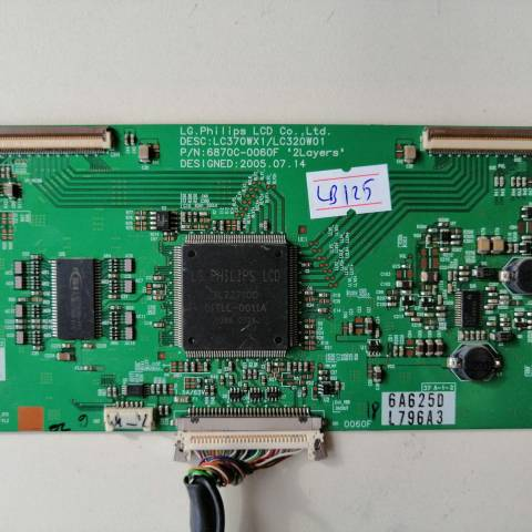 BEKO TV 82 LCD TV T-CON KARTI / T-CON (LOGIC) BOARD FOR BEKO LCD TV. BOARD NO.S 6870C-0060F, LC370WX1/LC320W01, 6871L-0796A, 796A