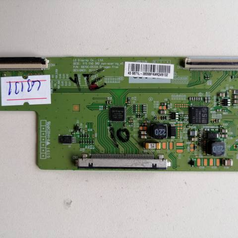 SEG 43SC7600 FULL HD LED TV T-CON KARTI / T-CON (LOGIC) BOARD FOR SEG (VESTEL) LED TV. BOARD NO.S 6870C-0532A, V15 FHD DRD, 6871L-3806B, 3806B