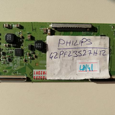 PHILIPS 42PFL3527 LED TV T-CON KARTI / T-CON (LOGIC) BOARD FOR PHILIPS LED TV. BOARD NO.S 6870C-0401B, VER 0.2, 32/37/42/47/55 FHD TM120, 6871L-2823H, 2823H