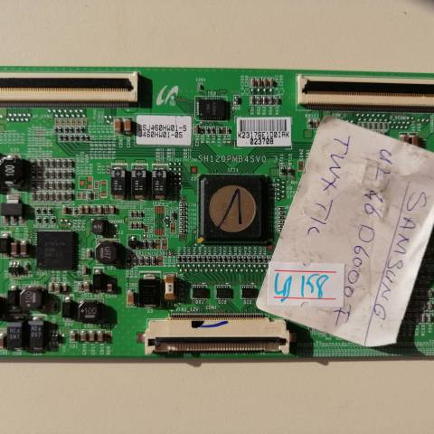 SAMSUNG UE46D6000 LED TV T-CON KARTI / T-CON (LOGIC) BOARD FOR SAMSUNG LED TV. BOARD NO.S SH120PMB4SV0.3, LJ94-23176E, LSJ460HW01-S, J460HW01-05, SH120PMB4S, V0.3, 23176E