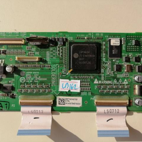 LG MZ-42PZ44 PLAZMA TV T-CON KARTI / T-CON (LOGIC) BOARD FOR LG PLASMA TV. BOARD NO.S 6870QCE020C, 42V7, CTRL_IN, 6871QCH073D, PDP42V7