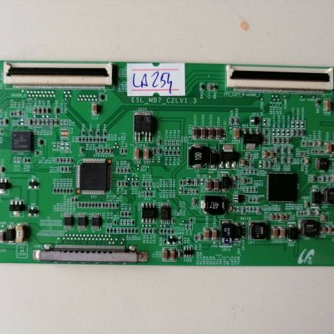 SONY BRAVIA KDL-40EX521 LED TV T-CON KARTI / T-CON (LOGIC) BOARD FOR SONY LED TV. BOARD NO.S ESL_MB7_C2LV1.3, LJ94-16524B, ESL_MB7_C2L, V1.3, 16524B