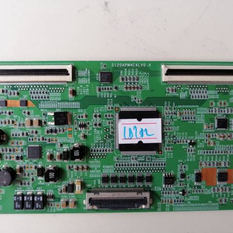 SAMSUNG UE40D5000 LED TV T-CON KARTI / T-CON (LOGIC) BOARD FOR SAMSUNG LED TV. BOARD NO.S S120APM4C4LV0.4, LJ94-3650A, S120APM4C4L, V0.4, 3650A
