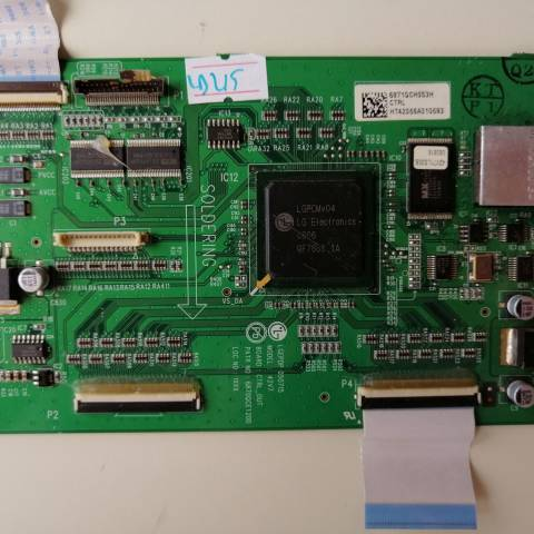 VESTEL MILLENIUM 42 INCH PLAZMA TV T-CON KARTI / T-CON (LOGIC) BOARD FOR VESTEL PLASMA TV. BOARD NO.S 6871QCH053H, 6870QCE120D, 42V7