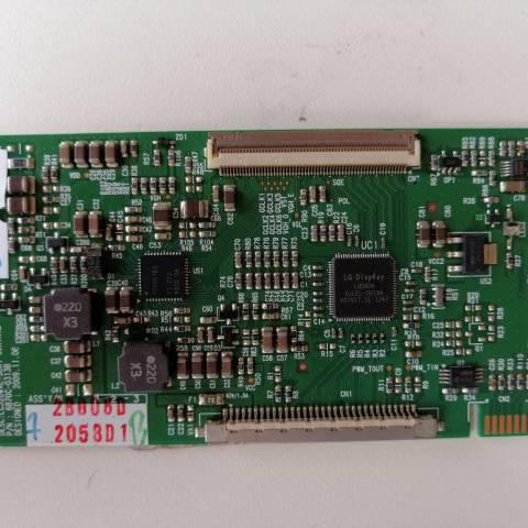 VESTEL PERFORMANCE 32VH3010 LCD TV T-CON KARTI / T-CON (LOGIC) BOARD FOR VESTEL LCD TV. BOARD NO.S 6870C-0313B, 6871L-2058D, LC320WXE-SCA1, 2058D