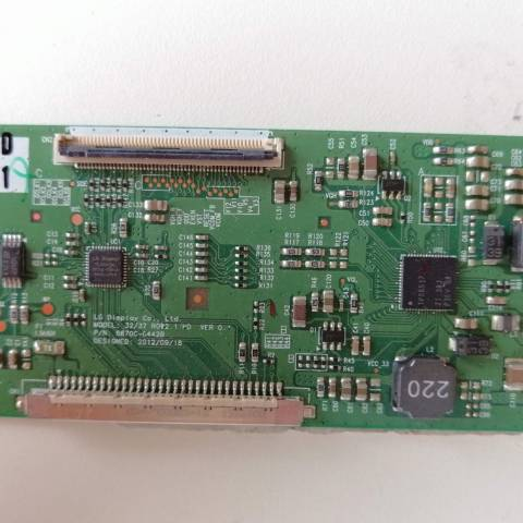 ARÇELİK A32-LB-5313 HD READY LED TV T-CON KARTI / T-CON (LOGIC) BOARD FOR ARÇELİK LED TV. BOARD NO.S 6870C-0442B, 6871L-3203D, 32/37 ROW2.1 HD, VER 0.1, 3203D
