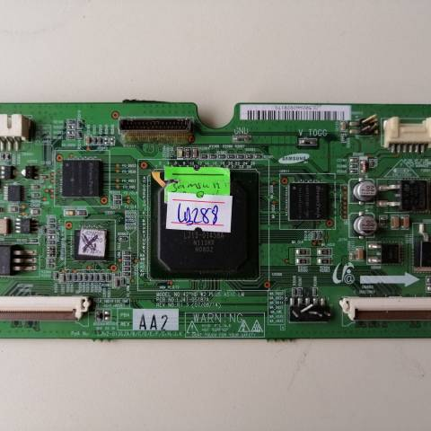 PHILIPS 42PFP5332 PLAZMA HD TV T-CON KARTI / T-CON (LOGIC) BOARD FOR PHILIPS PLASMA TV. BOARD NO.S LJ92-01502A, LJ41-05187A, LJ41-05137A, 42' HD W2 PLUS