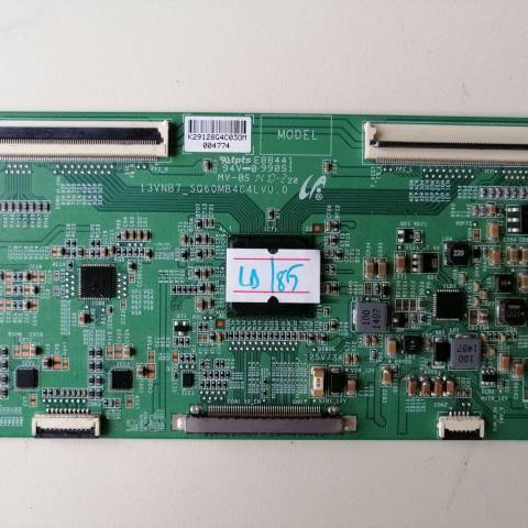 VESTEL 48 INCH LED TV T-CON KARTI / T-CON (LOGIC) BOARD FOR VESTEL LED TV. BOARD NO.S 13VNB7_SQ60MB4C4LV0.0, LJ94-29128G, 29128G