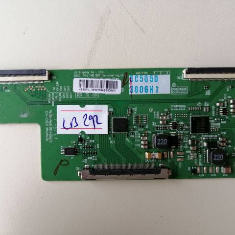 AXEN AX043DLD16AT015 LED TV T-CON KARTI / T-CON (LOGIC) BOARD FOR AXEN (SUNNY) LED TV. BOARD NO.S 6870C-0532A, V15 FHD DRD, 6871L-3806H, 3806H