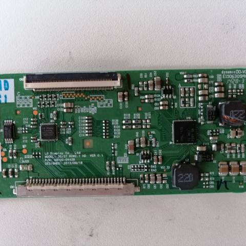 SUNNY SN032LM23-T1 LCD TV T-CON KARTI / T-CON (LOGIC) BOARD FOR SUNNY LCD TV. BOARD NO.S 6870C-0442B, 32/37 ROW2.1 HD, VER 0.1, 6871L-3203C, 3203C