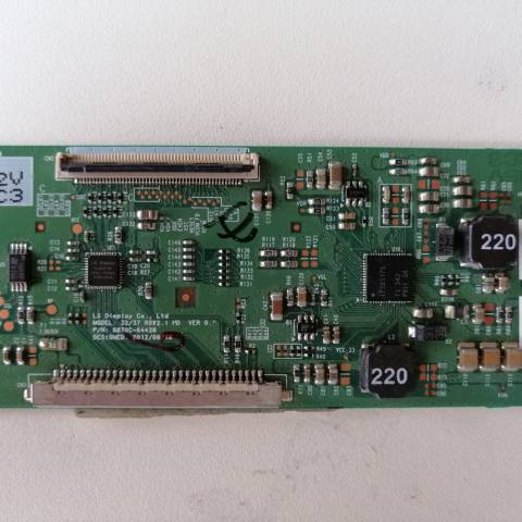 PHILIPS 32PFL3118 LED TV T-CON KARTI / T-CON (LOGIC) BOARD FOR PHILIPS LED TV. BOARD NO.S 6870C-0442B, 32/37 ROW2.1 HD, VER 0.1, 6871L-3203C, 3203C