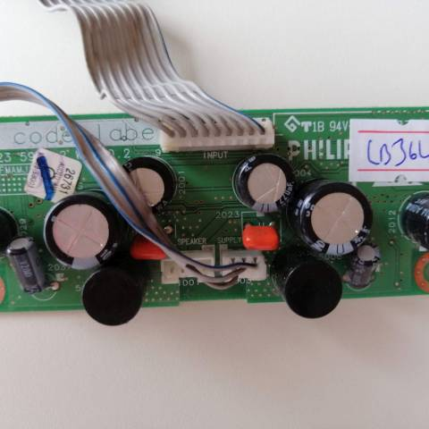 PHILIPS 32PF5531 LCD TV YÜKSELTİCİ KARTI / AMP. BOARD FOR PHILIPS LCD TV. BOARD NO.S 3139 123 5970.2, WK510.2