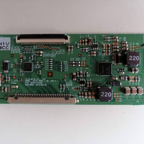 REGAL RTV 32917 LCD TV T-CON KARTI / T-CON (LOGIC) BOARD FOR REGAL (VESTEL) LCD TV. BOARD NO.S 6870C-0442B, 32/37 ROW2.1 HD, VER 0.1, 6871L-3203C, 3203C