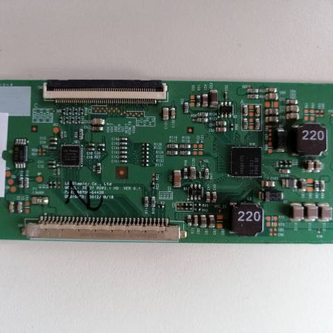 VESTEL PERFORMANCE 32VH3010 LCD TV T-CON KARTI / T-CON (LOGIC) BOARD FOR VESTEL LCD TV. BOARD NO.S 6870C-0442B, 32/37 ROW2.1 HD, VER 0.1, 6871L-3203C, 3203C