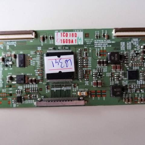 LG 42LK430 LCD TV T-CON KARTI / T-CON (LOGIC) BOARD FOR LG LCD TV. BOARD NO.S 6870C-0243C, LC420/LC470WUN-SBA1, 6871L-1609A, 1609A
