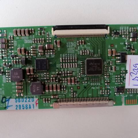 REGAL RTV 32882 LCD TV T-CON KARTI / T-CON (LOGIC) BOARD FOR REGAL (VESTEL) LCD TV. BOARD NO.S 6870C-0313B, LC320WXE-SCA1, 6871L-2058A, 2058A
