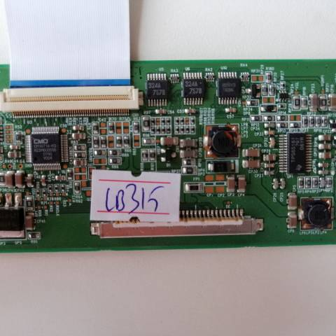 LG 26LG30 LCD TV T-CON KARTI / T-CON (LOGIC) BOARD FOR LG LCD TV. BOARD NO.S V260B1-C03, 35-D020803, D020803