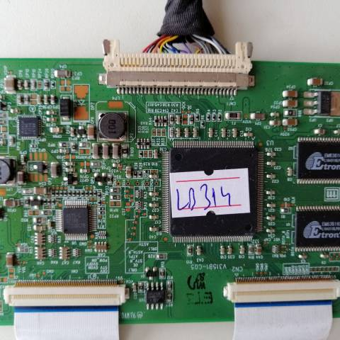 PHILIPS 32PFL7666 LCD TV T-CON KARTI / T-CON (LOGIC) BOARD FOR PHILIPS LCD TV. BOARD NO.S V315B1-C05, 35-D015985, V315B1, D015985