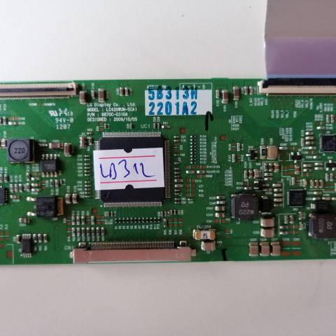 BEKO B37-LCC-2BU LCD TV T-CON KARTI / T-CON (LOGIC) BOARD FOR BEKO LCD TV. BOARD NO.S 6870C-0310A, 6871L-2201A, LC420WUN-SCA1, 2201A