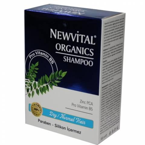 NEWVİTAL Organik Şampuan KURU ve NORMAL SAÇLAR 300 ML