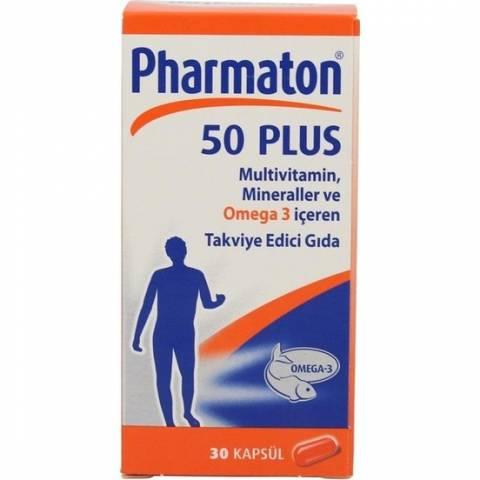 Pharmaton 50 Plus 30 Kapsül Bayer