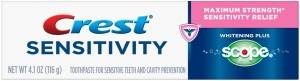 Crest Sensitivity Whitening Plus Scope Diş Macunu