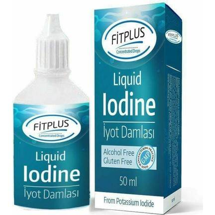 Fit Plus 50ml İyot Damlası 1 Şişe