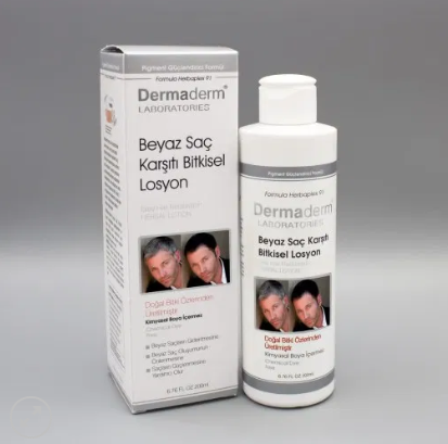 Beyaz Saç Önleyici 200 ml Dermaderm Losyon