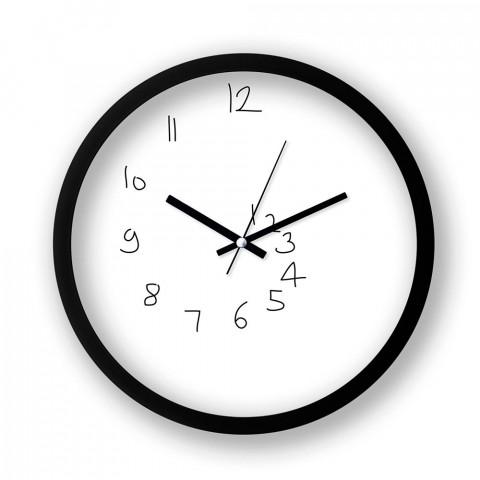 Unsteady resimli duvar saati. Presstish tasarım baskılı duvar saati. Sessiz akar makineli siyah duvar saati. En güzel duvar saatleri. Hediyelik şık dekoratif duvar saati.