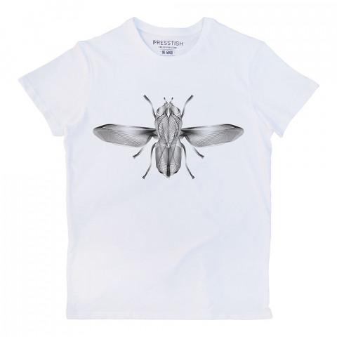 Surreal Flight baskılı tasarım tişört. %100 pamuklu baskılı tişört. Presstish organik erkek tasarım baskılı tişört çeşitleri. Hediyelik tasarım tshirt. Tişört baskı.