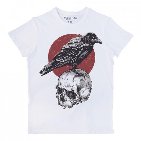 Crown Nest baskılı tasarım tişört. %100 pamuklu baskılı tişört. Presstish organik erkek tasarım baskılı tişört çeşitleri. Hediyelik tasarım tshirt. Tişört baskı.